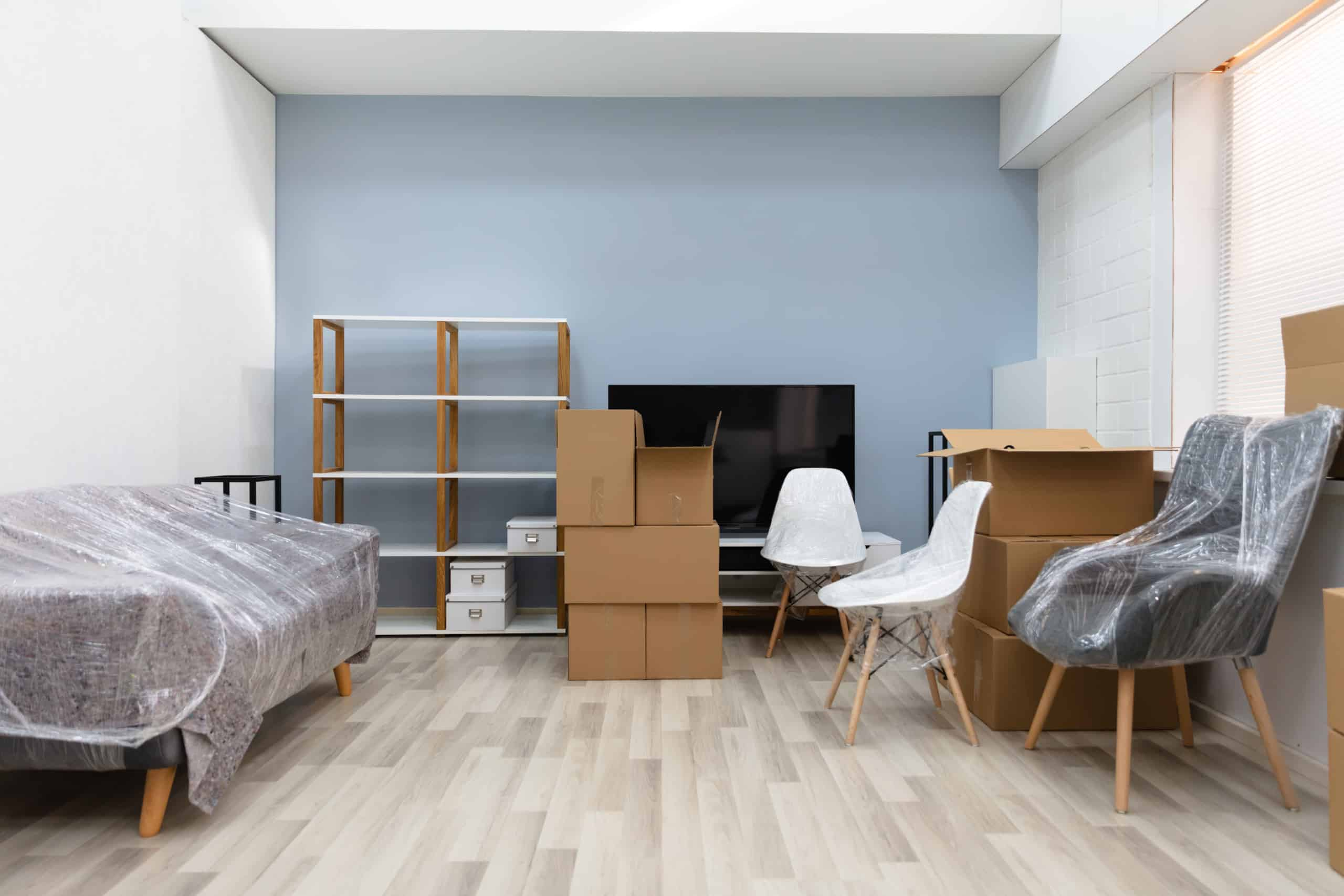 différents types de garde-meubles
